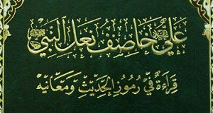 علي خاصف نعل النبي صلوات الله عليهم