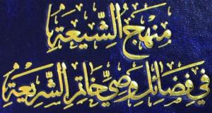 منهج الشيعة في فضائل وصي خاتم الشريعة